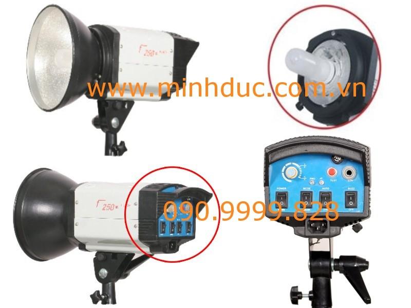 Đèn Flash Studio F250 Photoviet