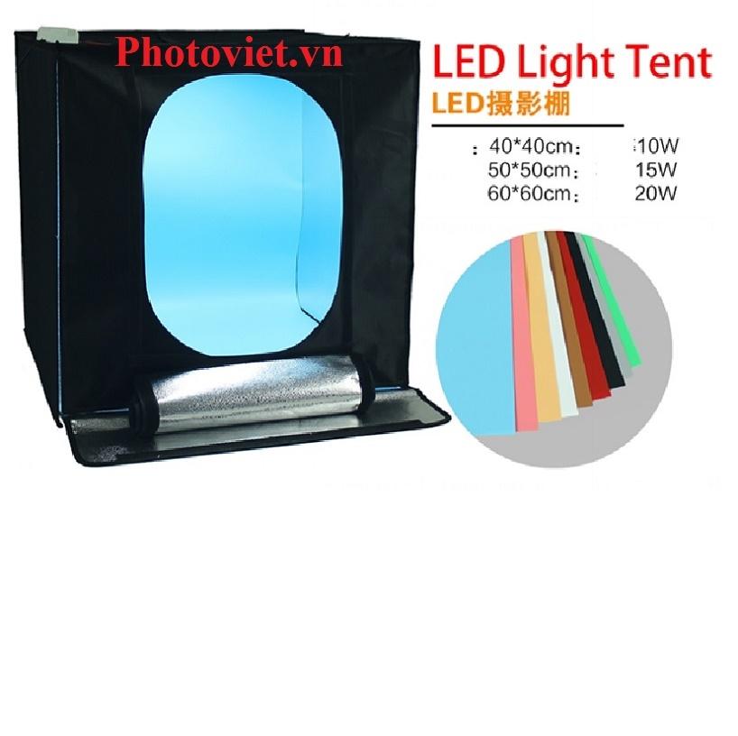 Hộp Chụp Sản Phẩm LED Light Tent 60-60 Photoviet