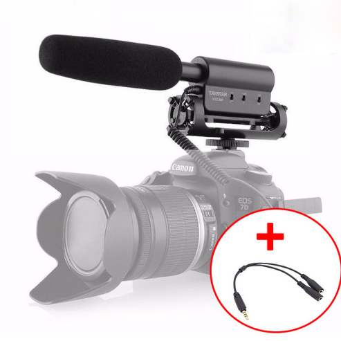 Microphone Stereo Takstar SGC-598 cho Canon Nikon Pentax Olympus