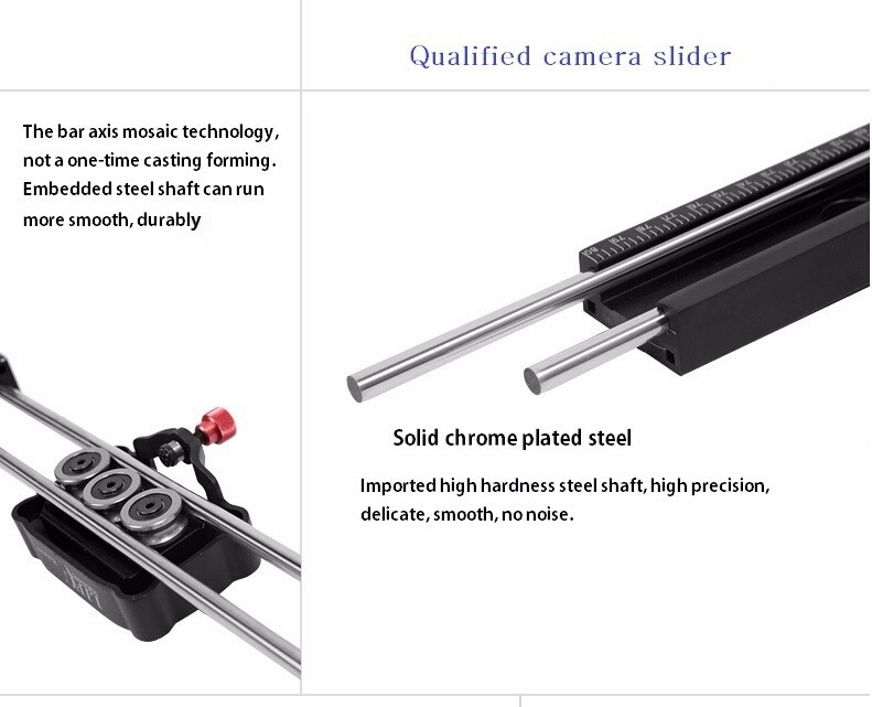Thanh Dolly Dragon -D02 80cm Slider Rail for Camera and Video Photoviet