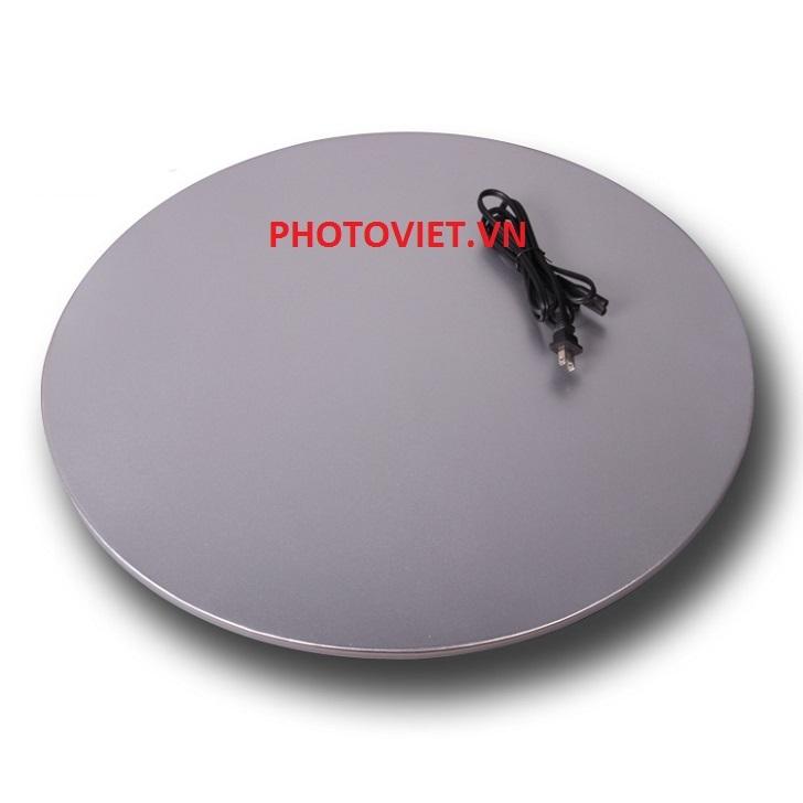 Bàn Chụp Sản Phẩm Xoay 360 Độ Đường Kính 60 Cm Photoviet