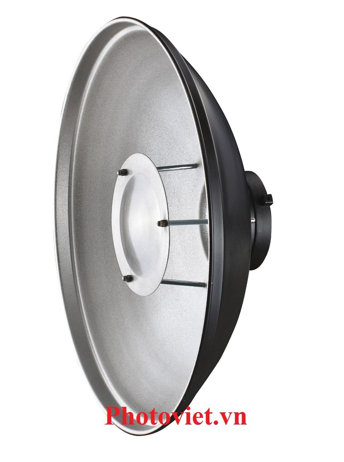 Beauty Dish Chóa Đèn Flash 58 Cm Photoviet