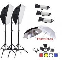Bộ kit đèn flash studio Jinbei DPE II