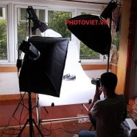 Bộ kit đèn flash studio JINBEI DPL Pro 400W -1 (3 Đèn)