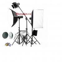 Bộ kit đèn flash studio JINBEI MSN II-400 - 1