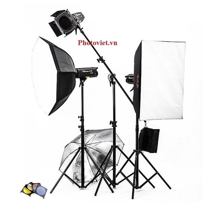 Bộ Đèn Kit Studio Hylow He600W-1 Photoviet