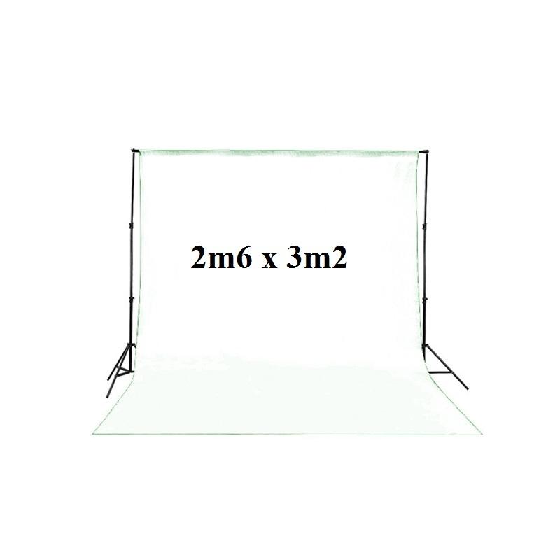 Bộ giá treo phông di động 2m60x3m2 nhỏ Photoviet