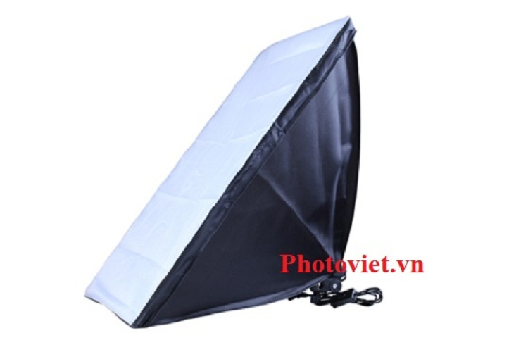 Bộ kit E27 Softbox 50x70 Bóng Led Công Suất 200W Chính Hãng