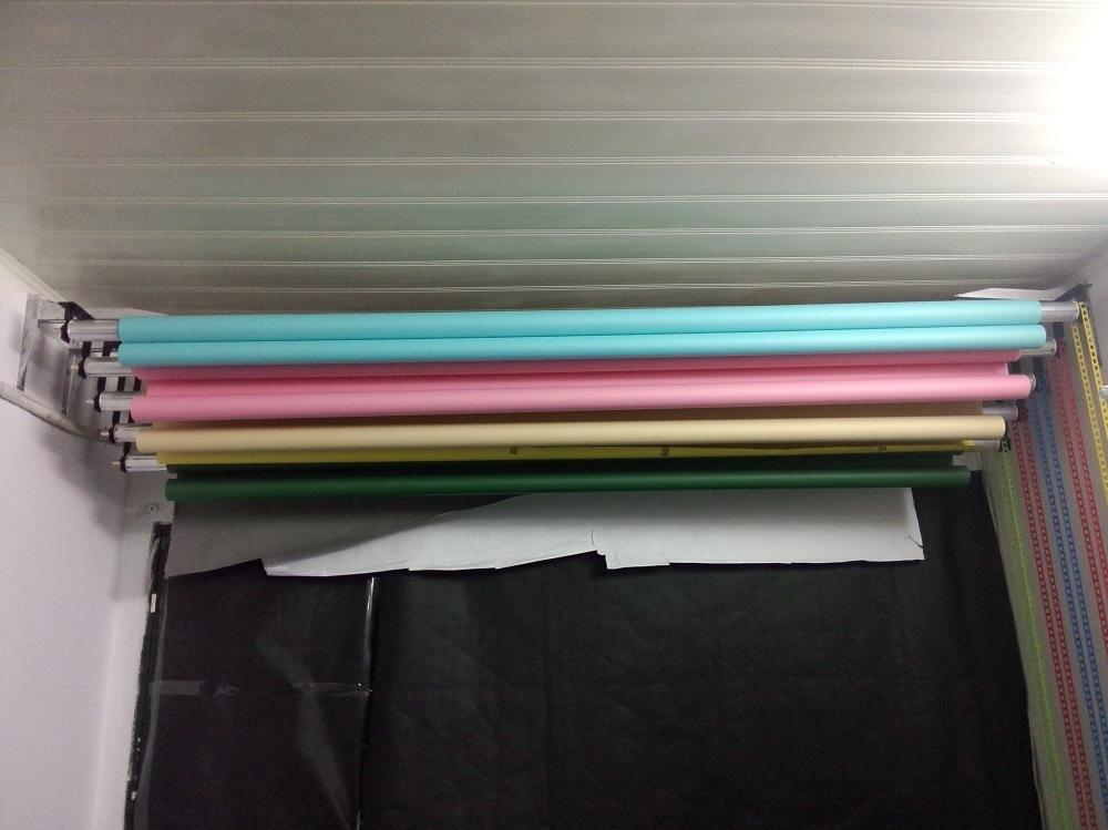Bộ kit khung xích 4 phông ( 4 Tấm Phông Vải Không Dệt )