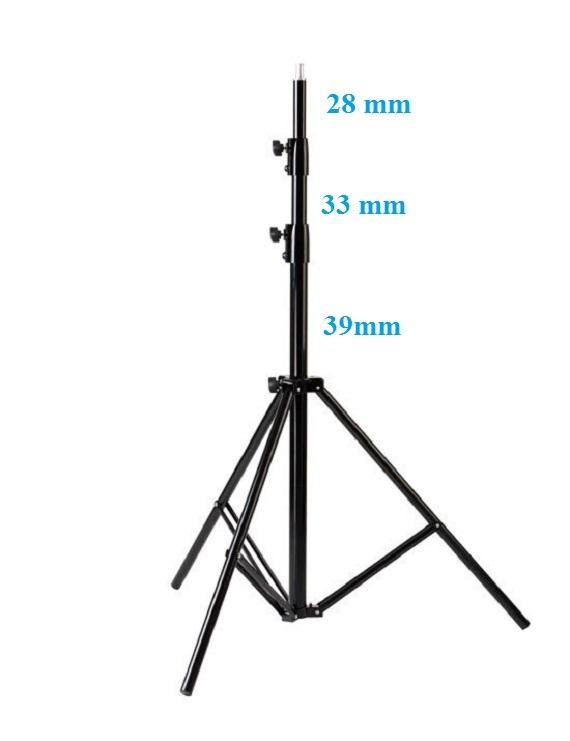 Bộ kits phòng quay chuyên nghiệp (3 đèn kino 4 bóng – 660W) Photoviet