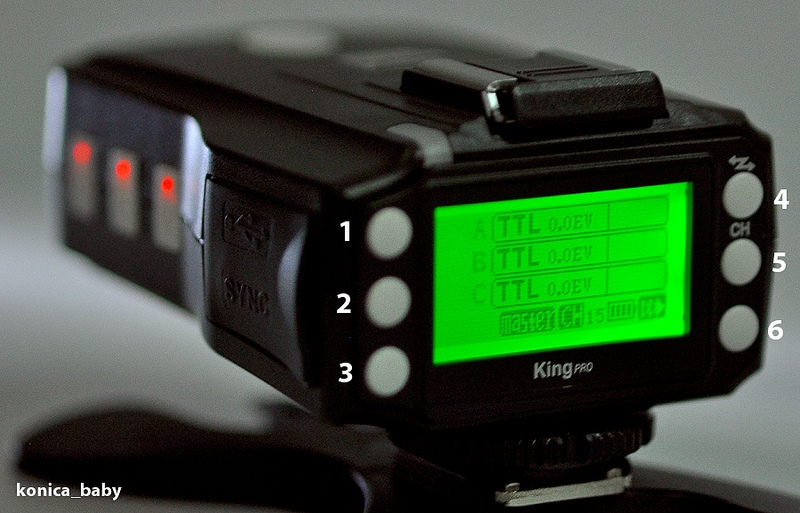 Cục Phát Trigger Pixel King Pro i-TTL Flash Transmitter for Nikon