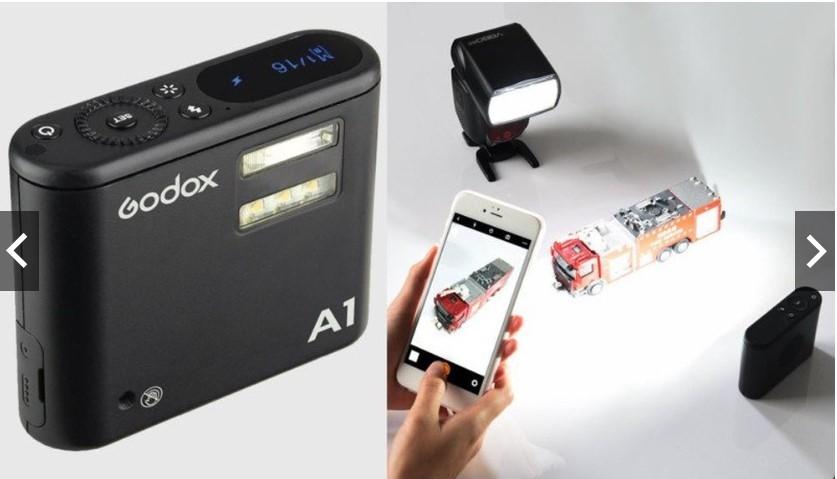 Đèn Flash Godox A1 Dùng Cho Smartphone