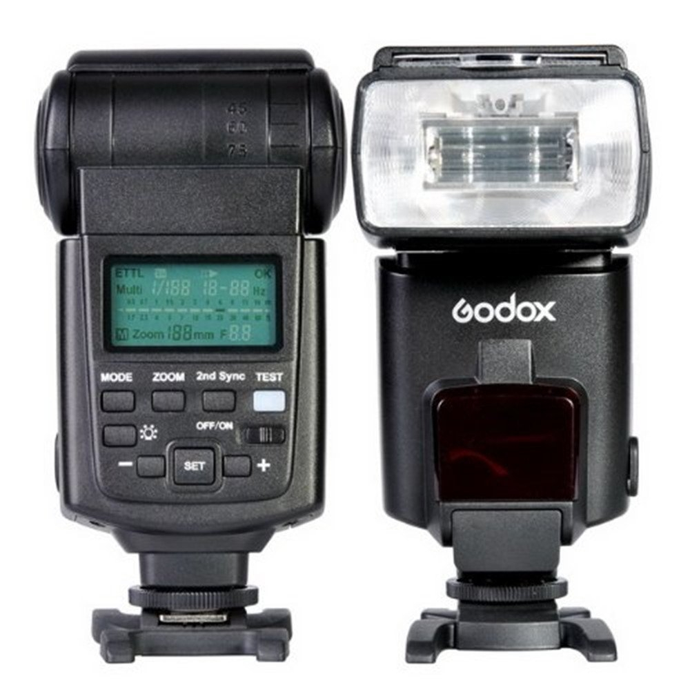 ĐÈN FLASH GODOX I-TTL II Camera Speedlite Hot Shoe Flash Light TT680N FOR NIKON PHOTOVIET