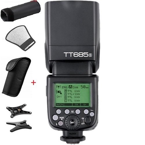 Đèn Flash GODOX TT685C - GN60 - HSS - TTL for Canon, Nikon,Sony, Fujifilm, Olympus