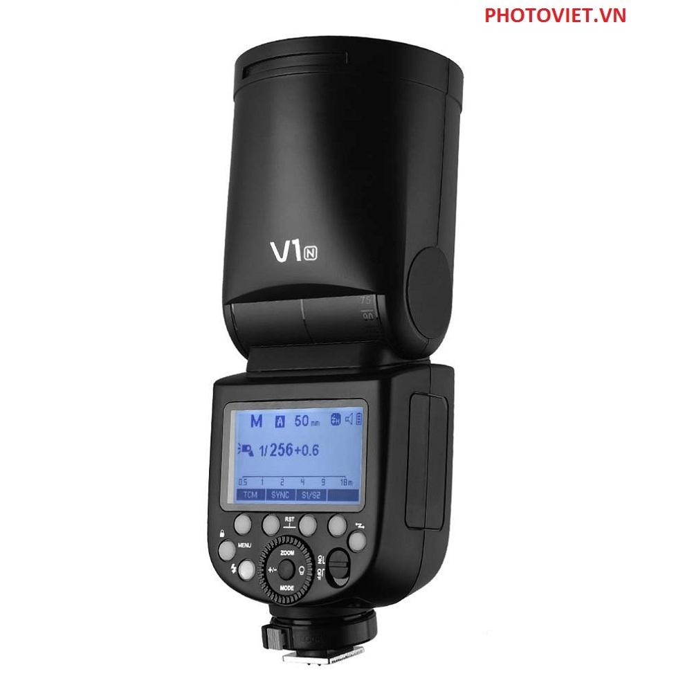 Đèn Flash Godox V1N TTL Hss 1/8000 For Nikon Camera