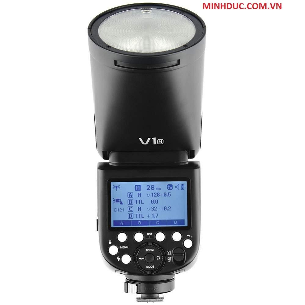 Đèn Flash Godox V1S TTL Hss 1/8000 For Sony Camera