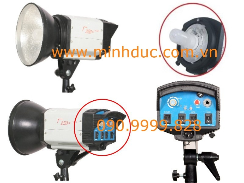 Đèn Flash Studio F250 Photoviet