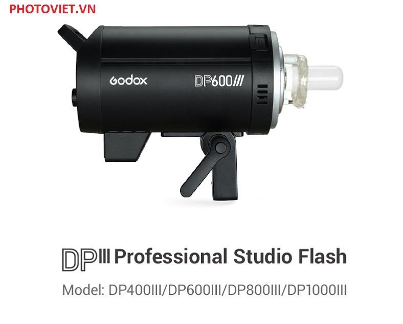 Đèn Flash Studio Godox DP600III 600w Chính Hãng Photoviet