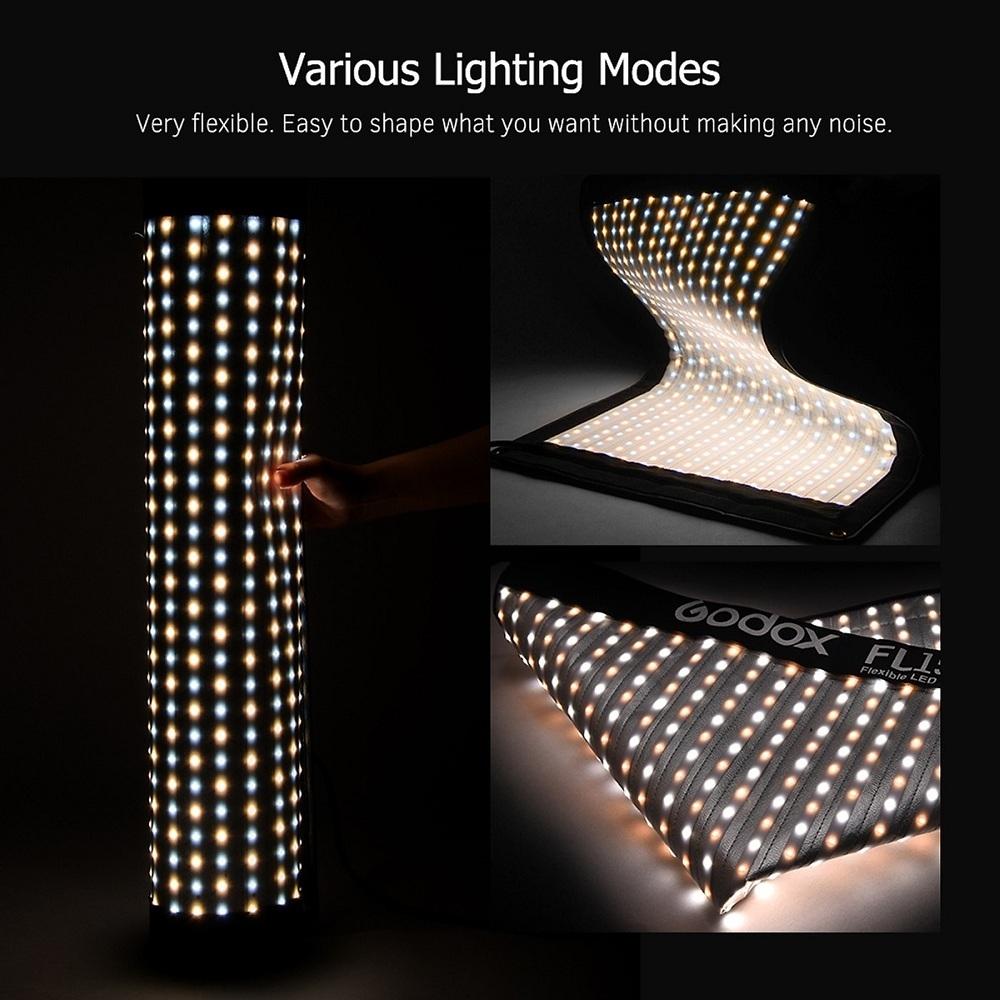 Đèn Led Godox FL100 Dạng Vải Có Thể Gập Lại Với Bộ Điều Khiển Từ Xa (100W) (40x60cm)