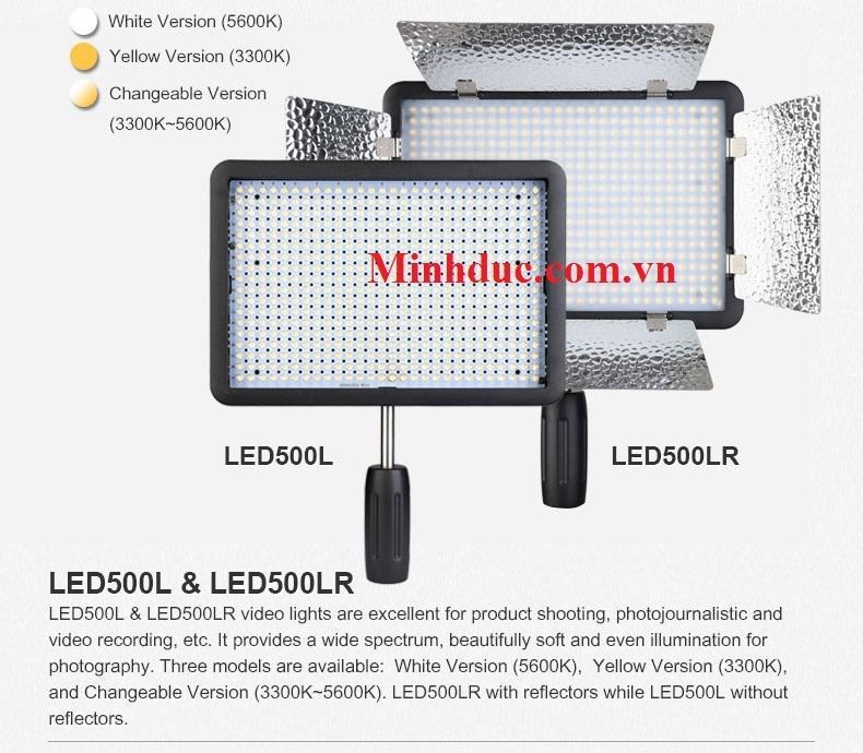 Đèn led Godox LED500LR-C