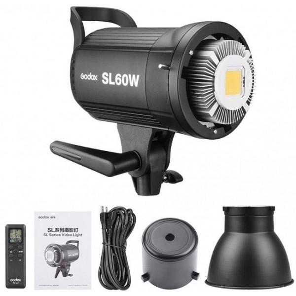 Đèn LED Quay Phim Godox SL60 Điều Khiển Từ Xa (5600K) (60W)