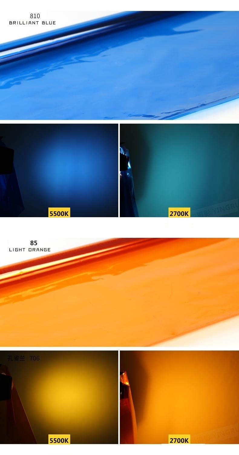 Filter gel màu các màu FT02
