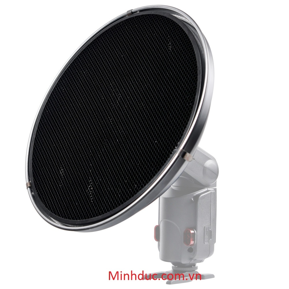 Godox Beauty Dish AD-S3 with Grid AD-S4 for WITSTRO Speedlite Flash AD180 AD360 Photoviet