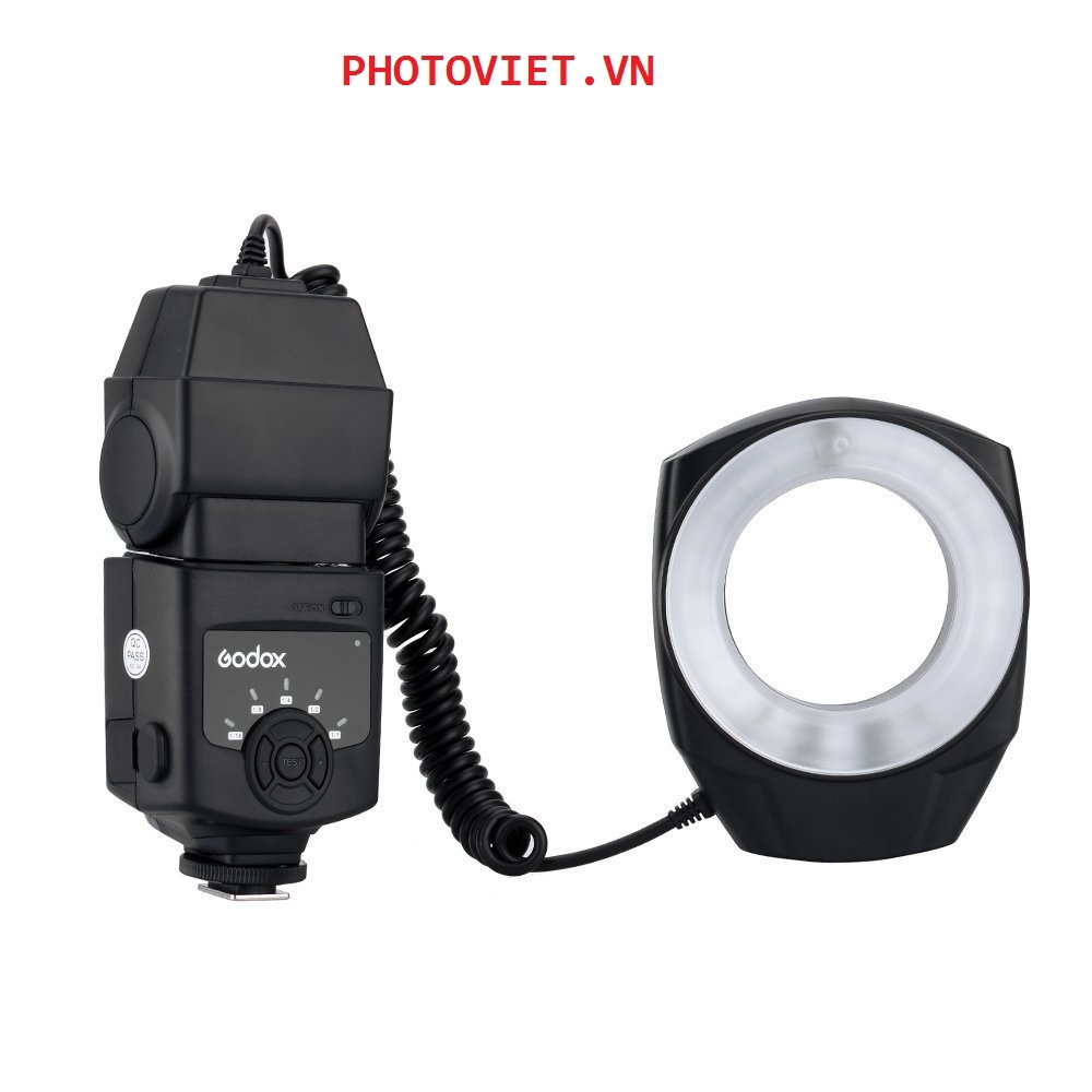 Godox  Flash Ring Light  ML- 150 Macro For Photography Flash Light with 6 Adapter Ring Canon Nikon Pentax Olympus DSLR Camera  Photoviet