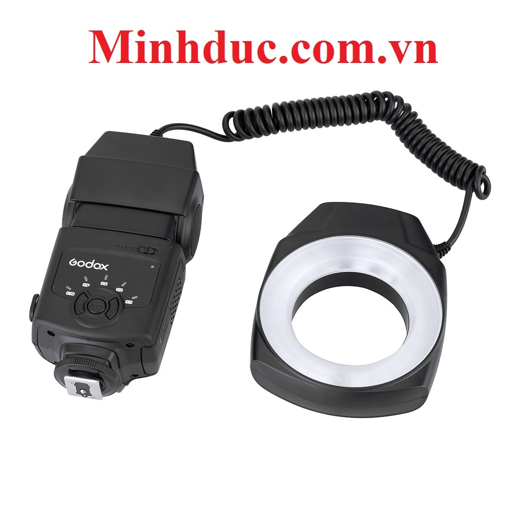 Godox ML150 Macro Ring Flash Light for Canon Nikon Sony-Pentax-Olympus-Camera
