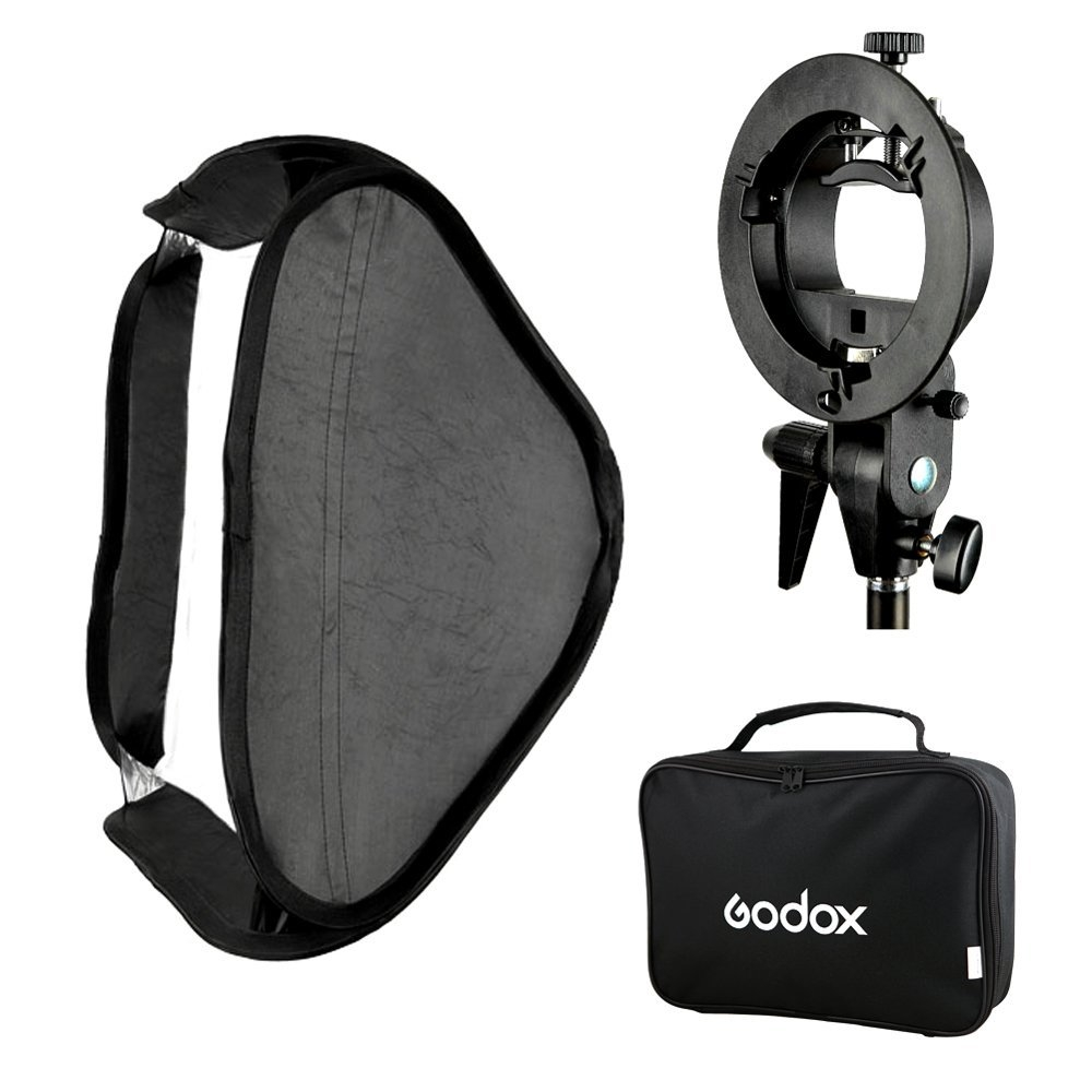 Godox smart softbox 40x40cm with Godox S shape adapter Photoviet