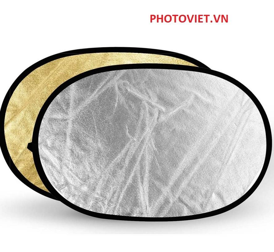 Hắt Sáng 2 in 1 Reflector Size 120 Cm - 180 Cm Photoviet