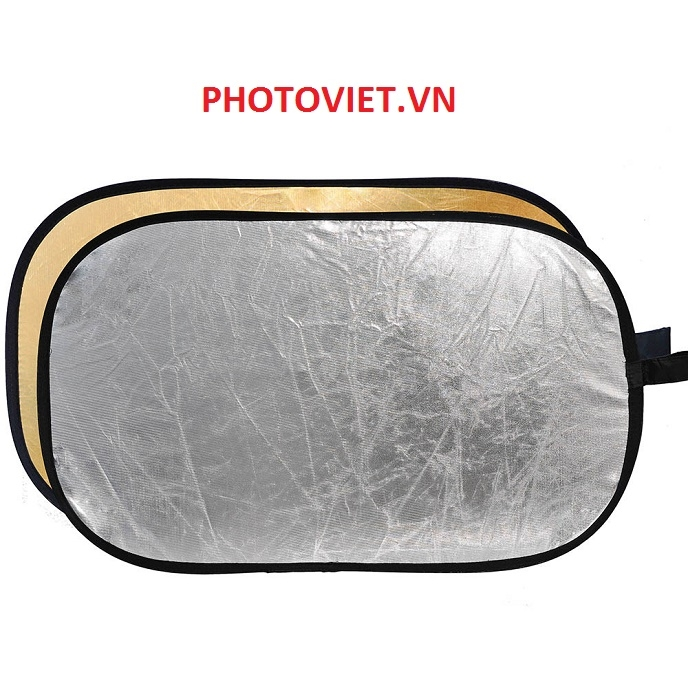 Hắt Sáng 2 in 1 Reflector Size 80 Cm - 120 Cm Photoviet
