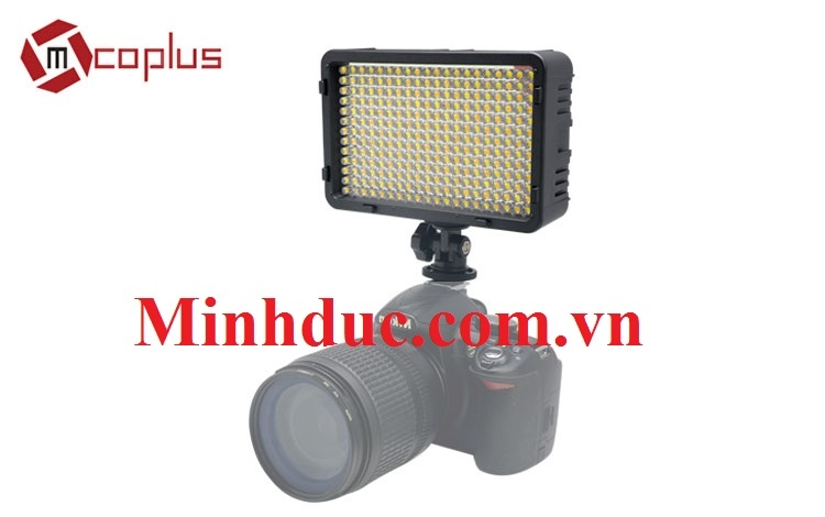 Mcoplus LED 198B Pro series video LED light