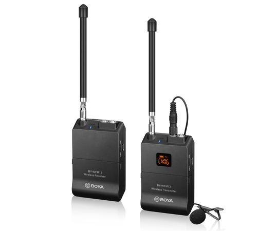Micro thu âm không dây BY-WFM12 Pro