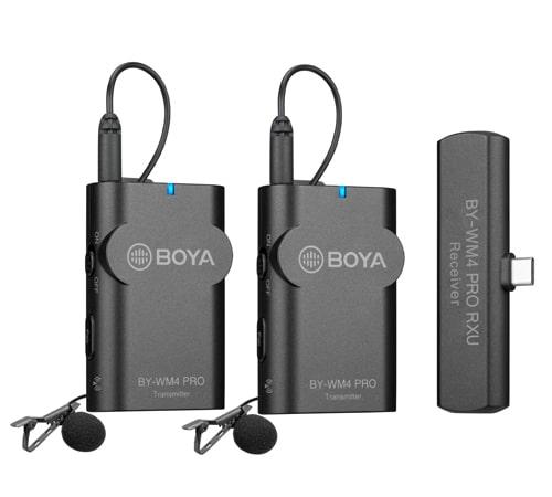 Microphone BOYA BY-WM4 Pro-K6, Type-C