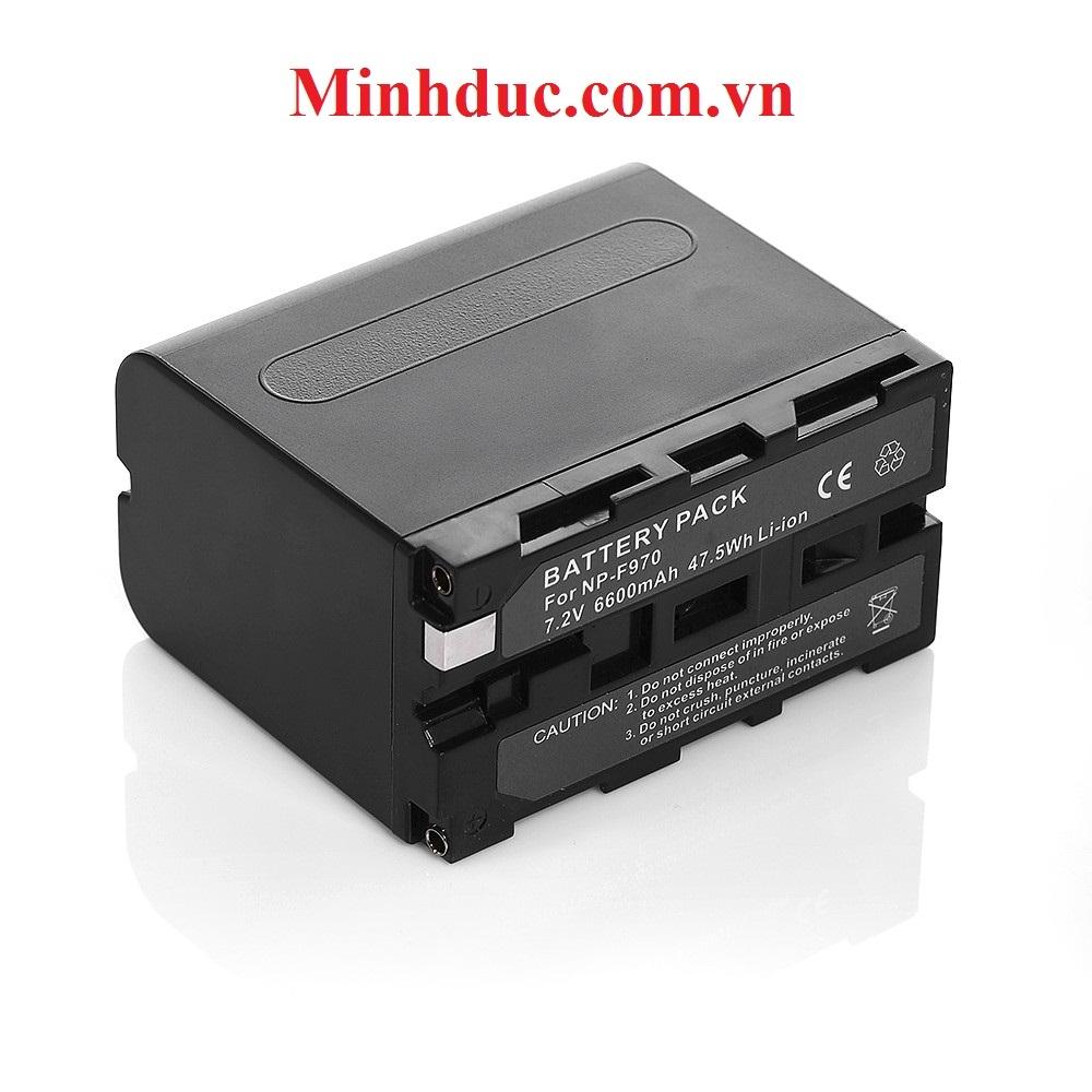 Pin F970/F960 Mcoplus 7.4V 6600maH for LED light