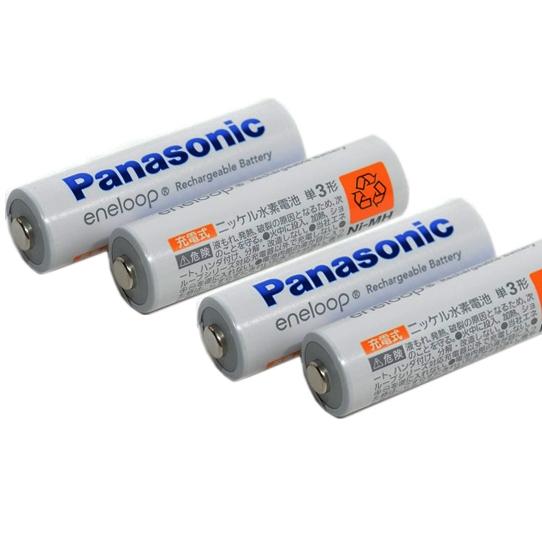Pin sạc AA Panasonic Eneloop 1900mah ( NỘI ĐỊA NHẬT - Tuổi Thọ 2100 Lần Sạc )