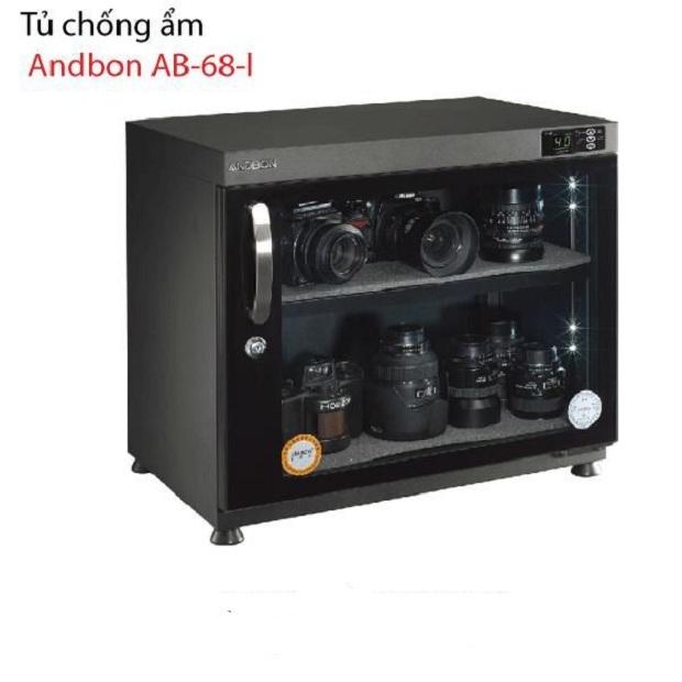 Tủ Chống Ẩm Andbon AB-68L, Tủ Ngang (70 Lít)